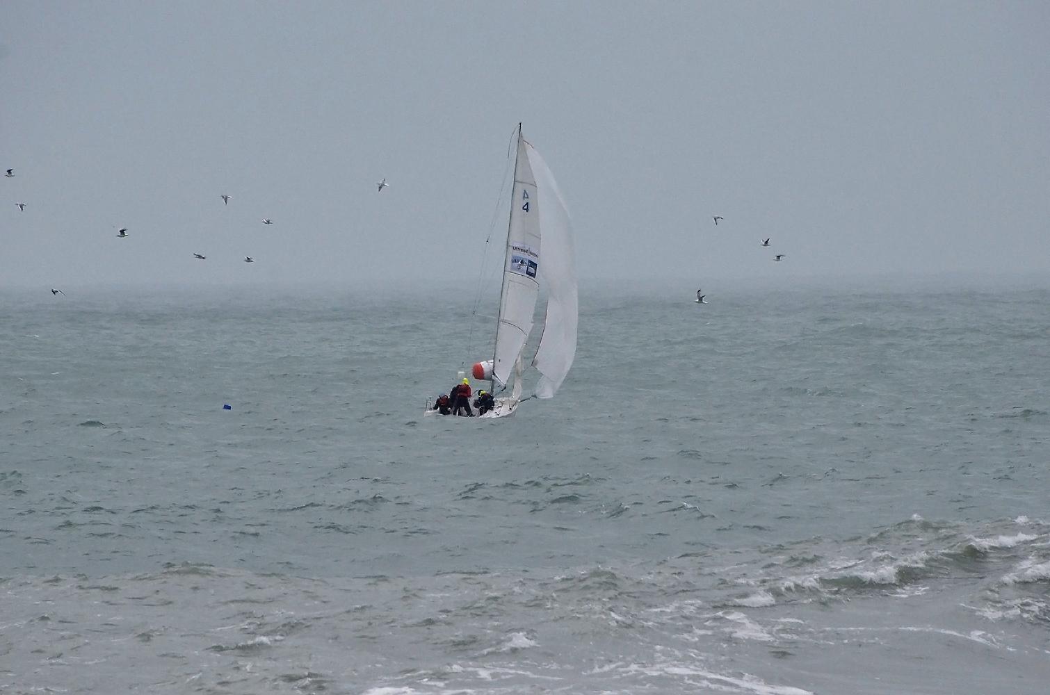 "photo ""***"" tags: sport, sea, парус, стихия, яхта"