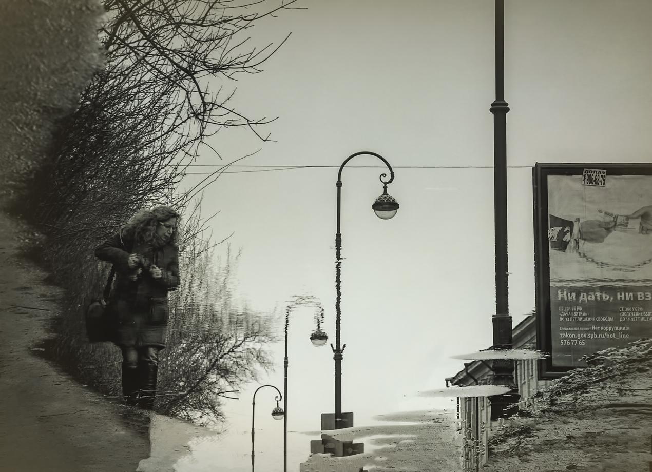 "photo ""***"" tags: , reflections, spring, Петербург, конкурс"
