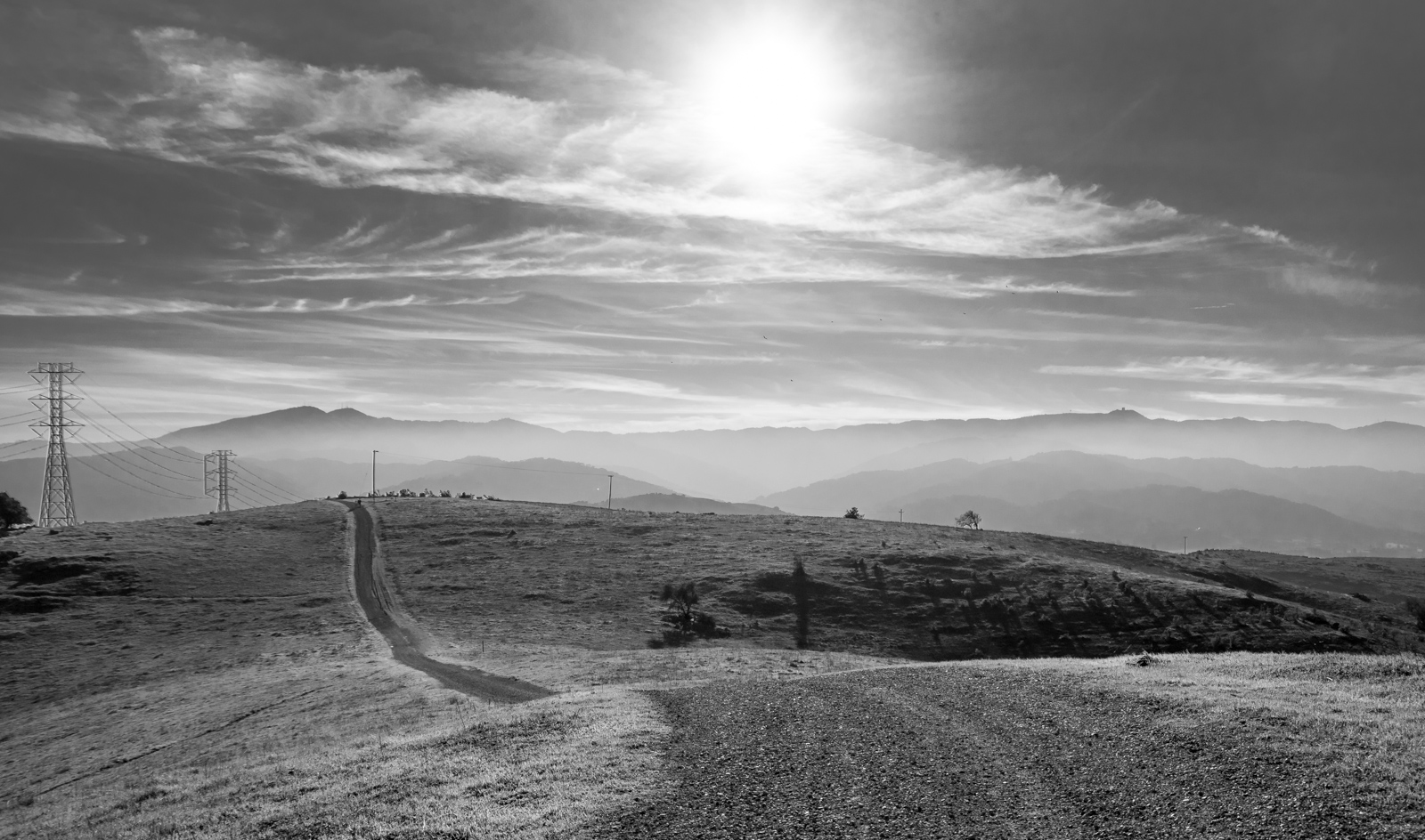 "photo ""Пожарная Дорога"" tags: black&white, landscape, fire, road, road, Пожарная"