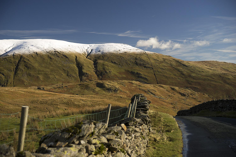 "photo ""***"" tags: nature, misc., landscape, mountains, road, snow, стена..."
