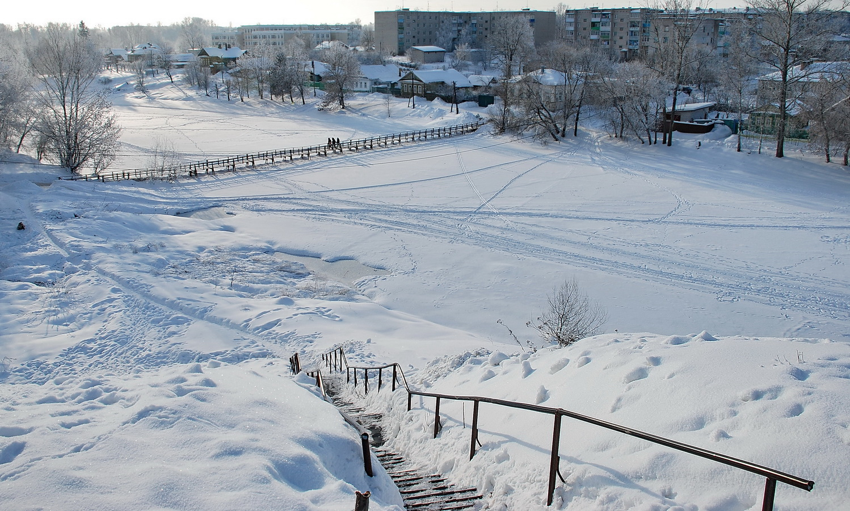 "photo ""***"" tags: nature, г. Кашин, р. Кашинка"
