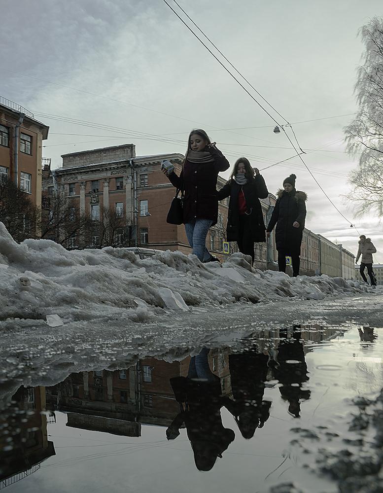 """photo """"Вот и весна"""" tags: street,"""