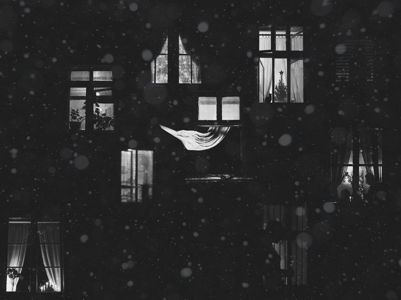 """photo """"***"""" tags: montage, black&white,"""