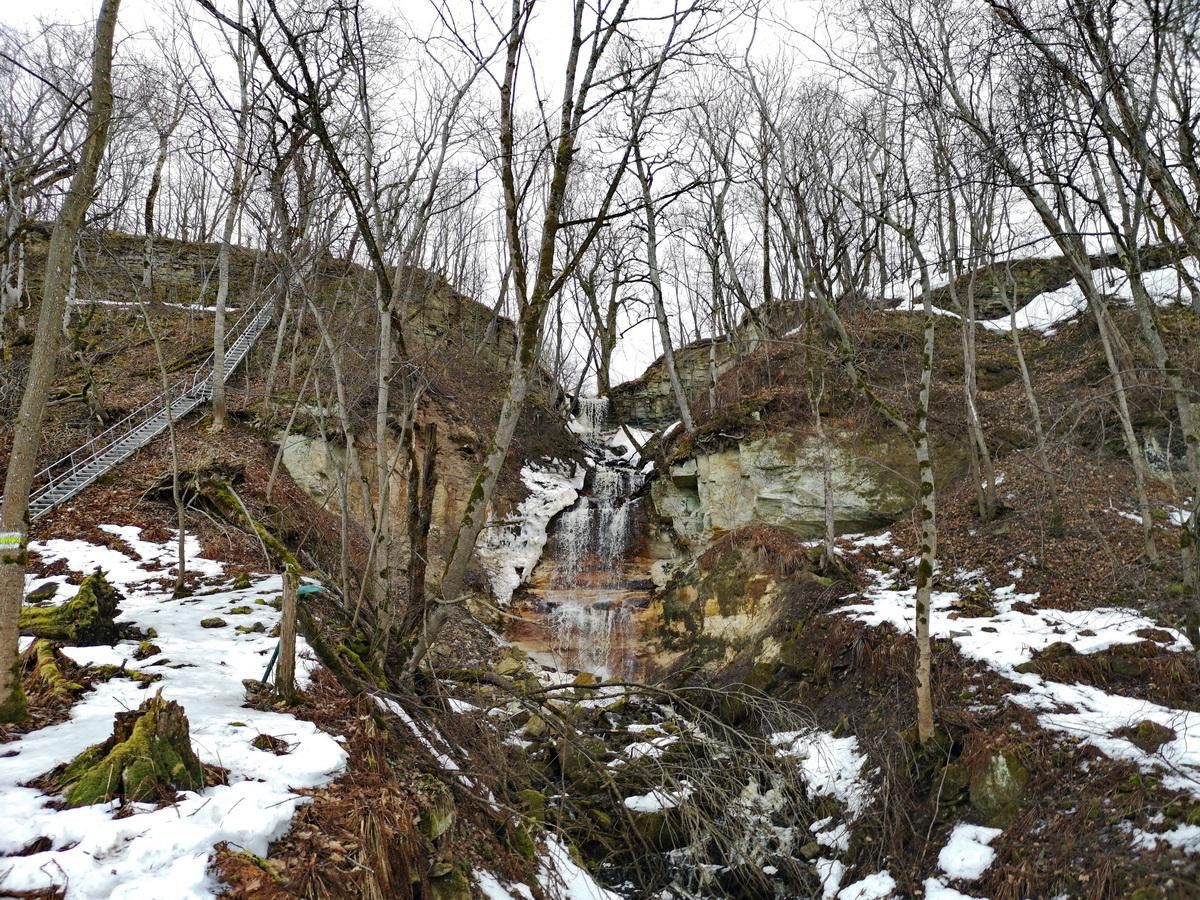 """photo """"Spring at Saka Falls. Estonia"""" tags: travel,"""