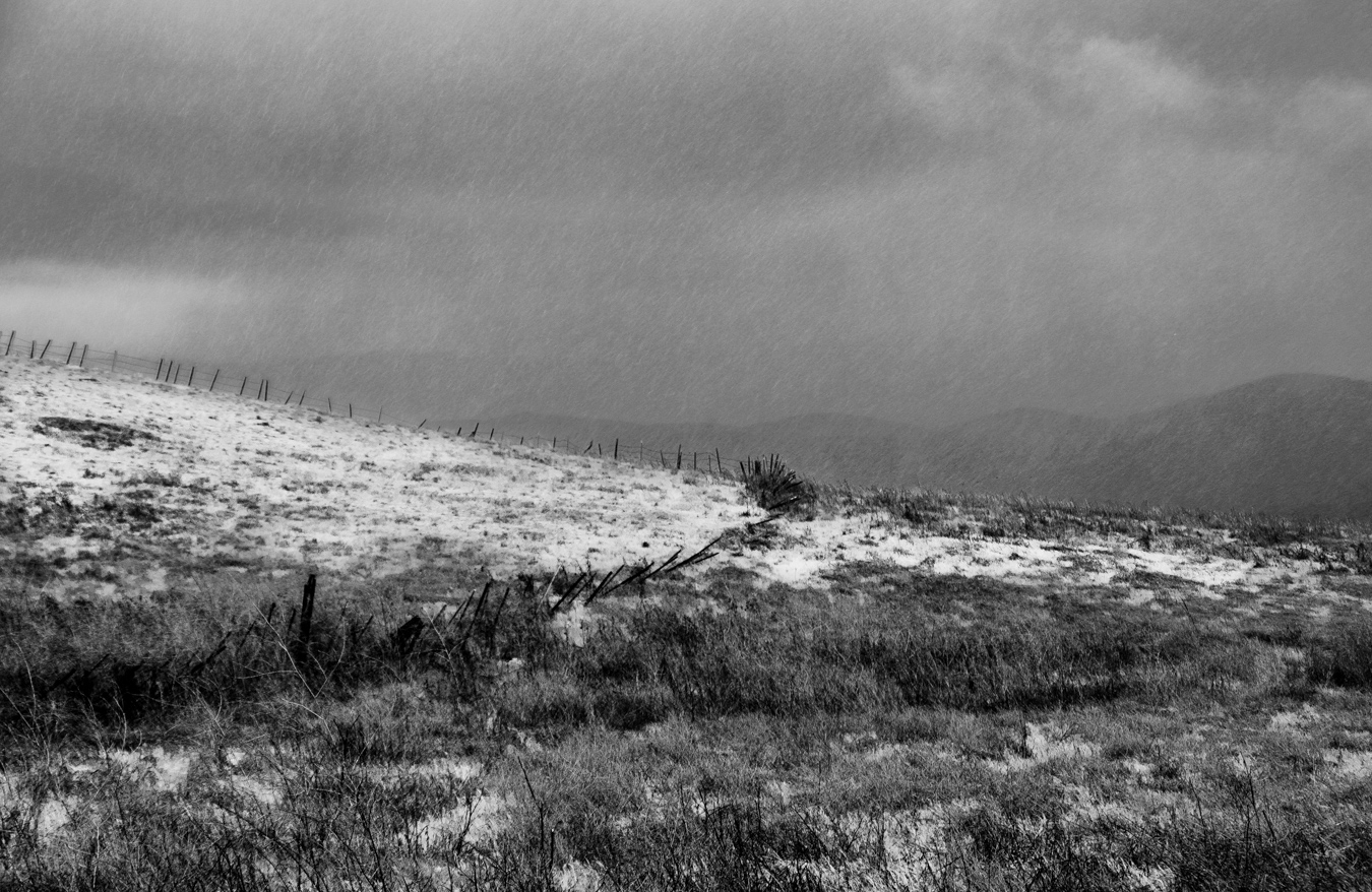 "photo ""Весенняя Гроза с Градом"" tags: black&white, landscape, гроза"