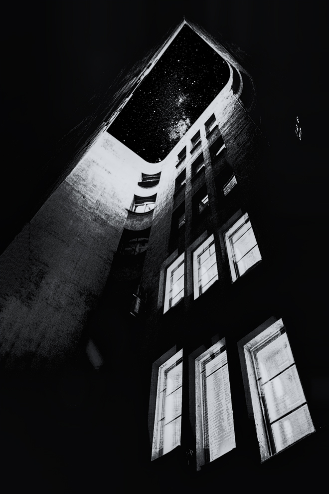 "photo ""***"" tags: montage, architecture, city, Петербург, дворы и окна"