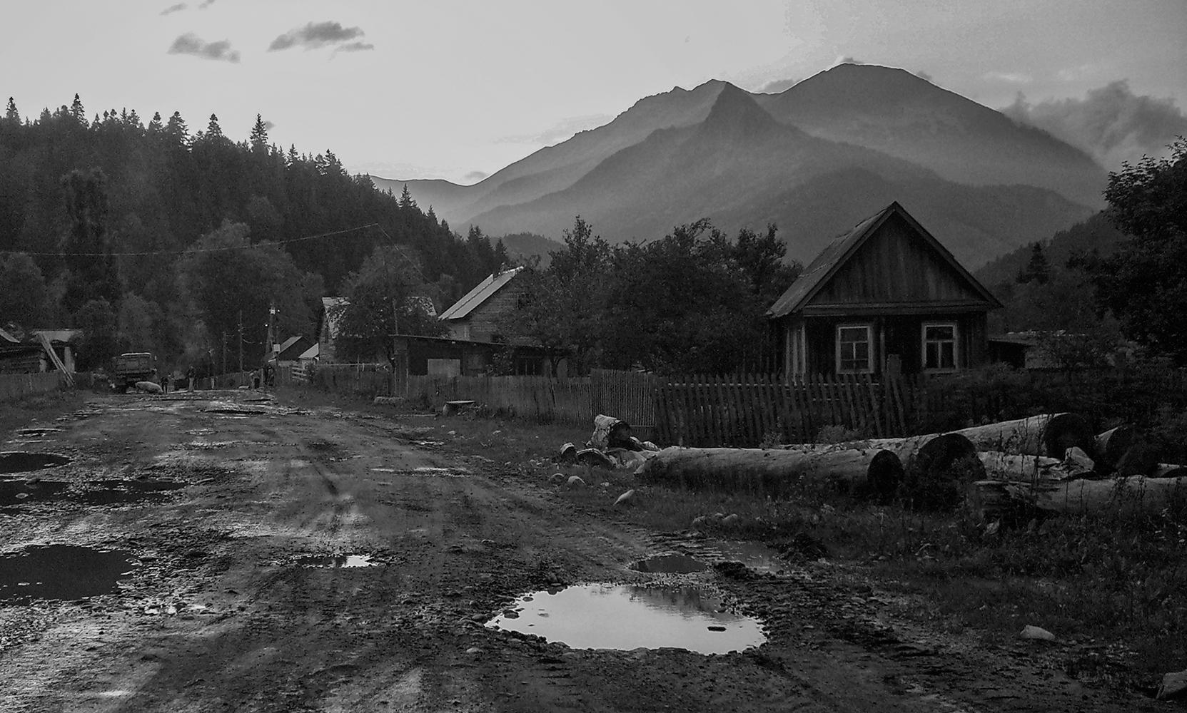 "фото ""Про жизнь в горах"" метки: черно-белые,"