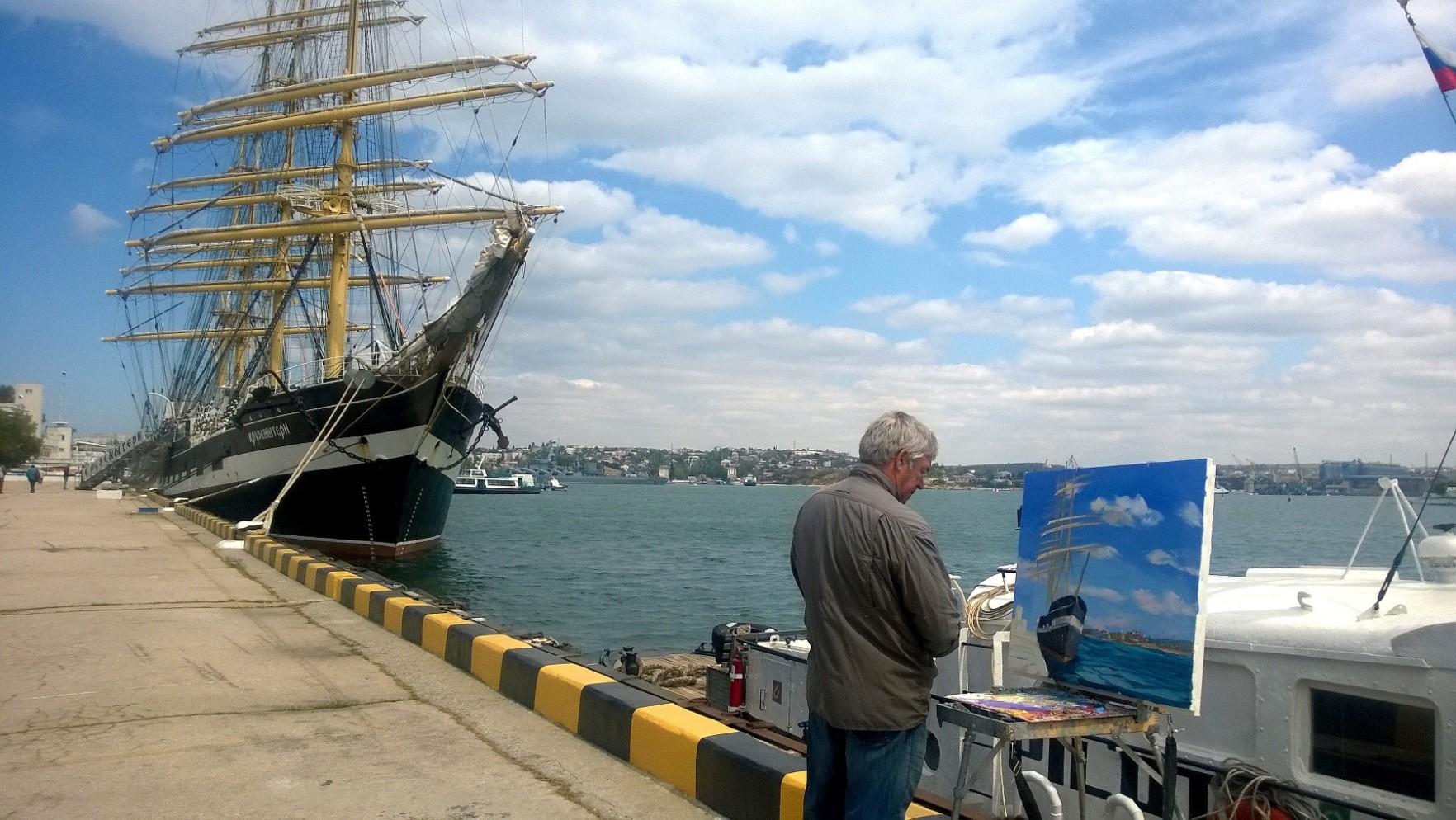 """photo """"""""having no equal...."""""""" tags: travel, reporting, fragment, sea, water, Севастополь, Черное море, историческое наследие, корабли, традиции"""