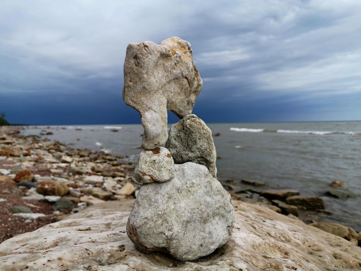 "photo ""before the storm"" tags: travel, Финский залив пляж Сака"