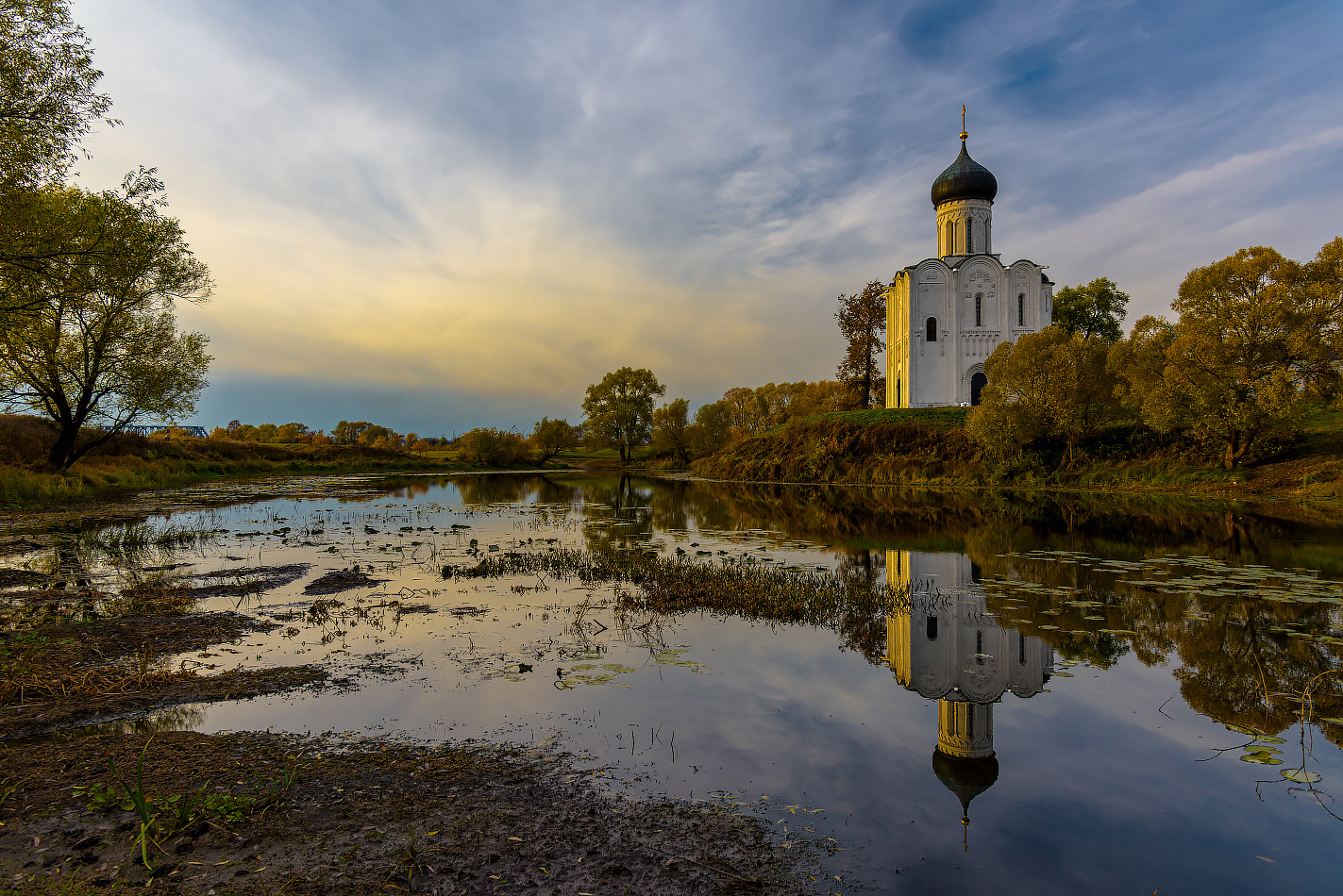 "photo ""***"" tags: landscape, travel, autumn, Боголюбово, церковь"