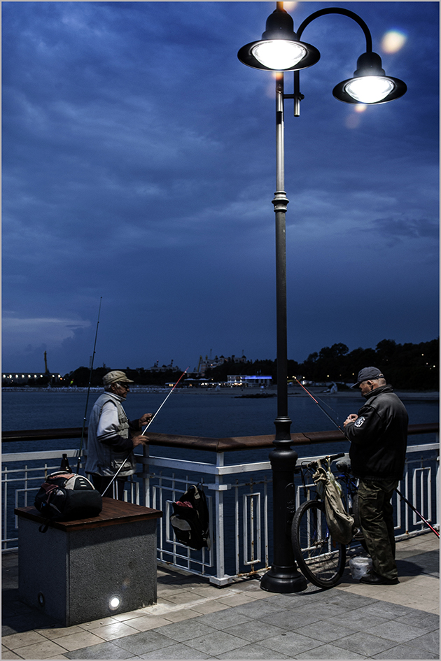 "photo ""Ночная рыбалка"" tags: city, misc.,"