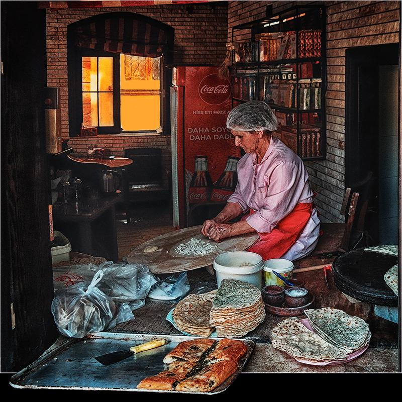 """photo """"Kutab in Baku"""" tags: travel, portrait, Азербайджан, Баку, старый город"""