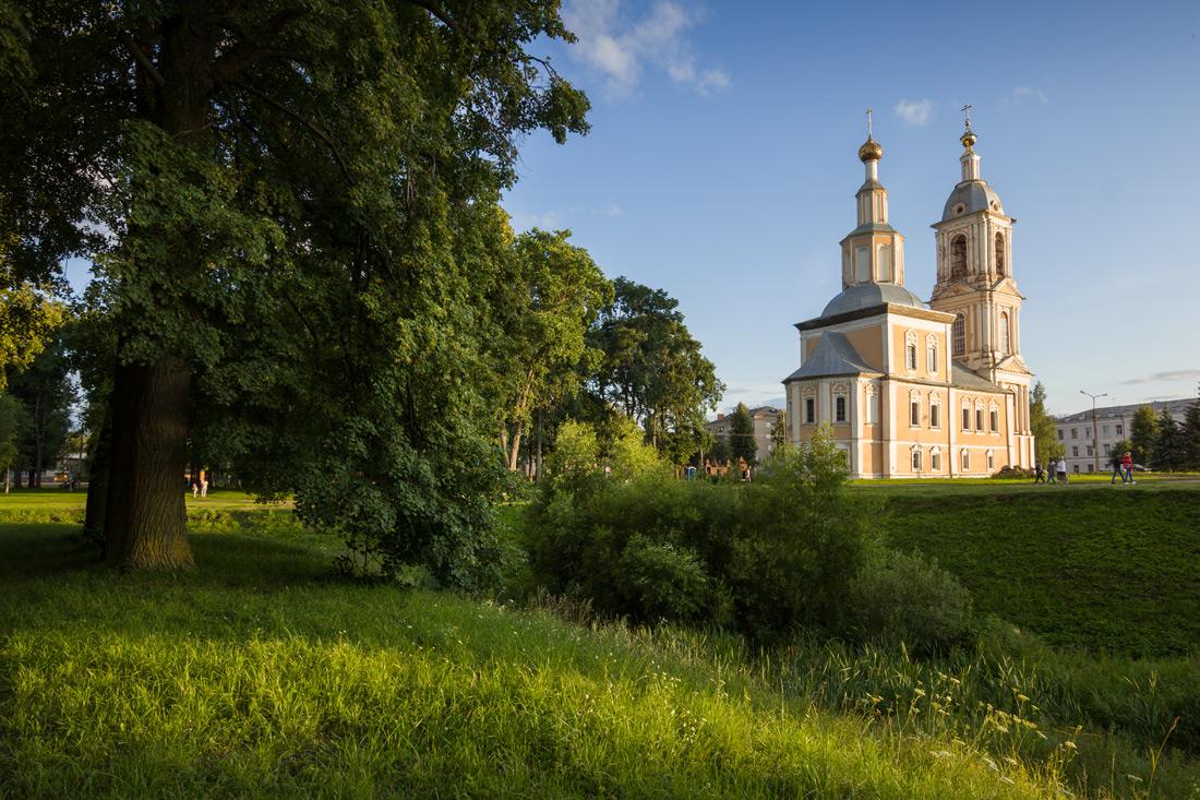 "photo ""***"" tags: landscape, evening, temple, Углич"