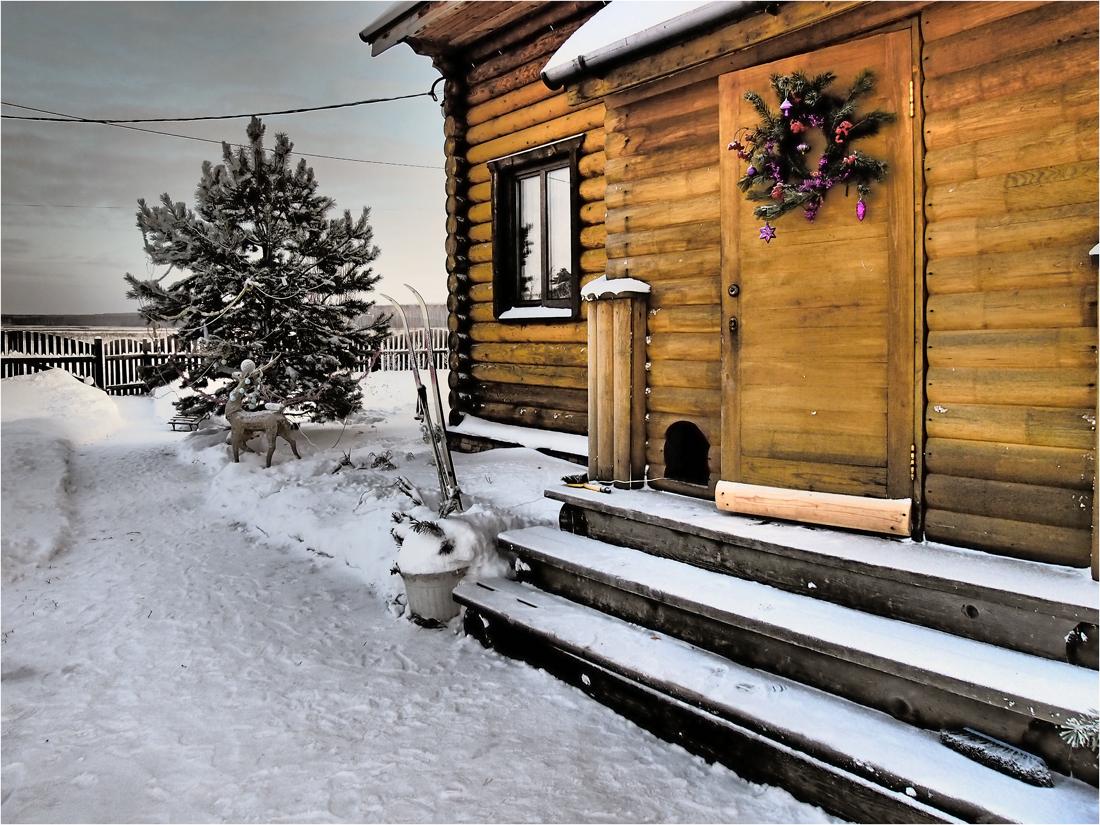 """фото """"Рождество"""" метки: архитектура, природа,"""