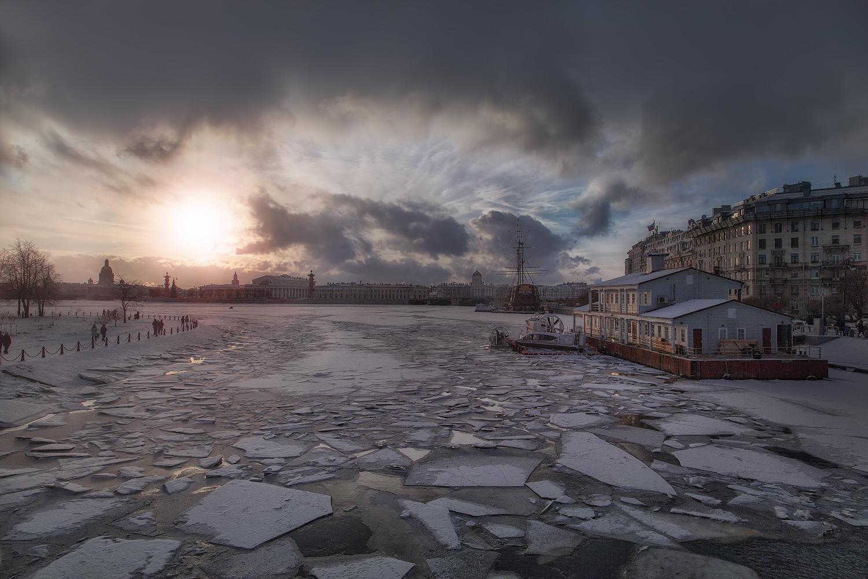 """фото """"Замерзший Питер"""" метки: пейзаж,"""