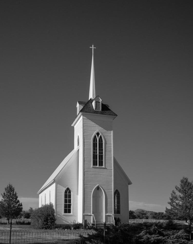 "photo ""Элегантность"" tags: architecture, black&white, 1878, Little Shasta Church"