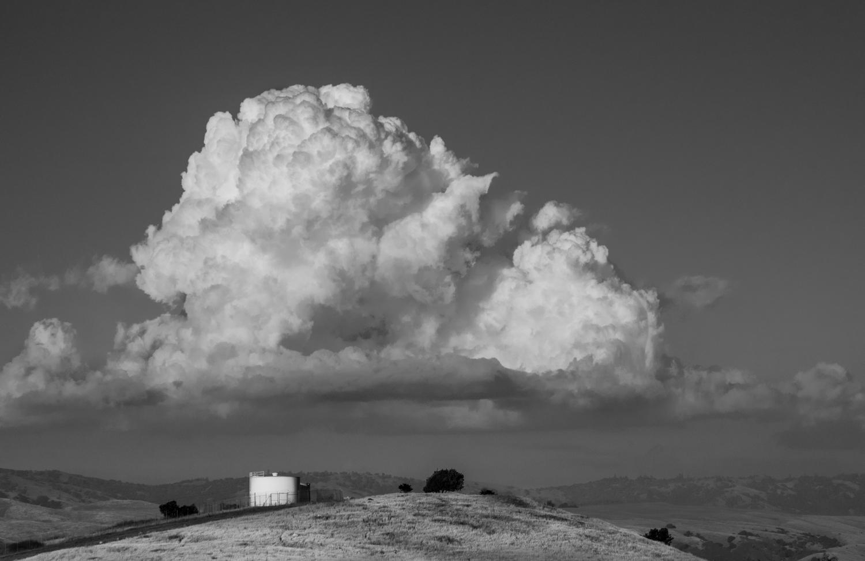 "photo ""Зно, жара, сушь и вода на всякий случай"" tags: landscape, black&white, жара сушь вода"