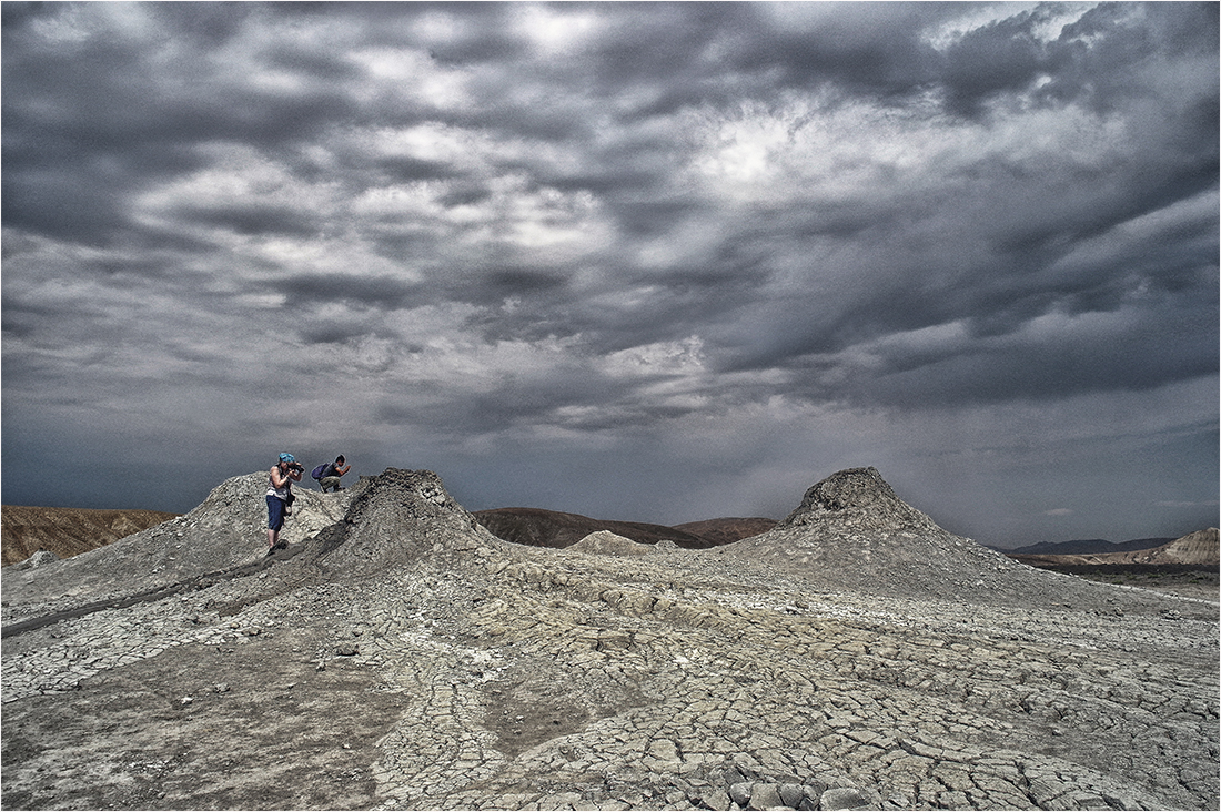 "photo ""Gobustan Mud Volcanoes ..."" tags: travel, nature,"