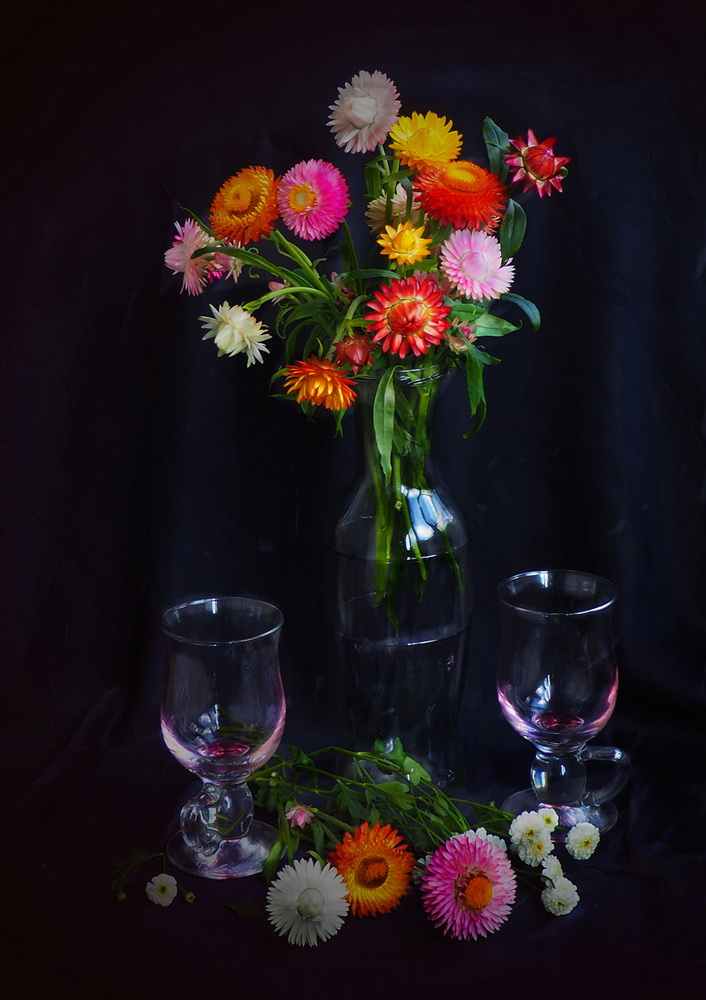 "photo ""***"" tags: still life, flowers, light, стекло"