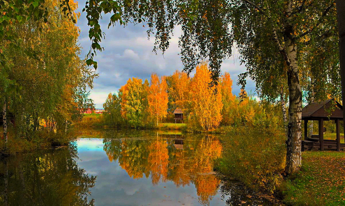 "photo ""***"" tags: landscape, autumn, lake, кострома"
