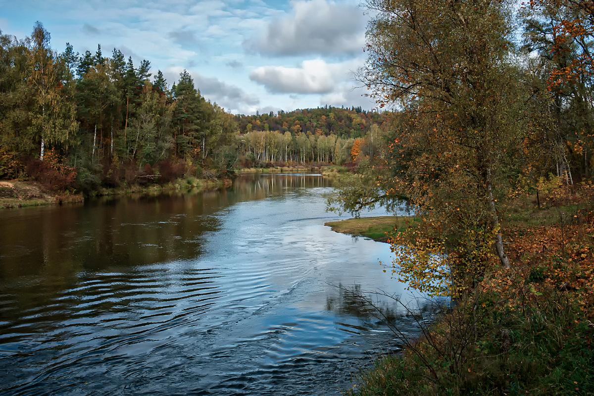 """фото """"***"""" метки: пейзаж, природа, вода, деревья, небо, осень, отражения"""