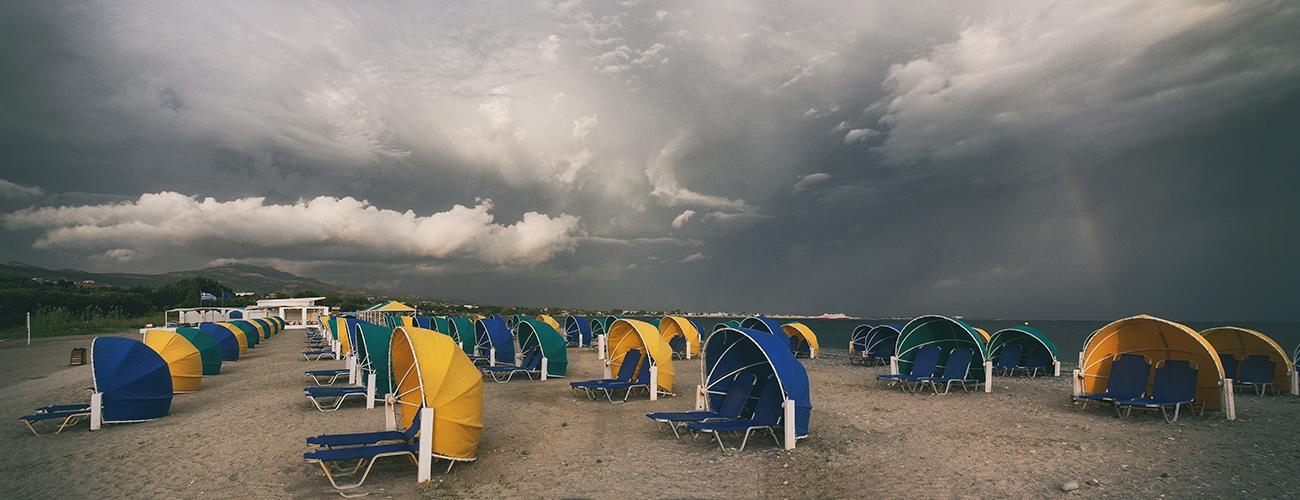 "photo ""It seems rain is approaching"" tags: travel, panoramic, Кос"