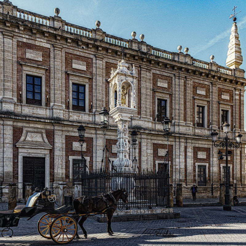 "photo ""A Touristic Photo from Seville"" tags: interior,"