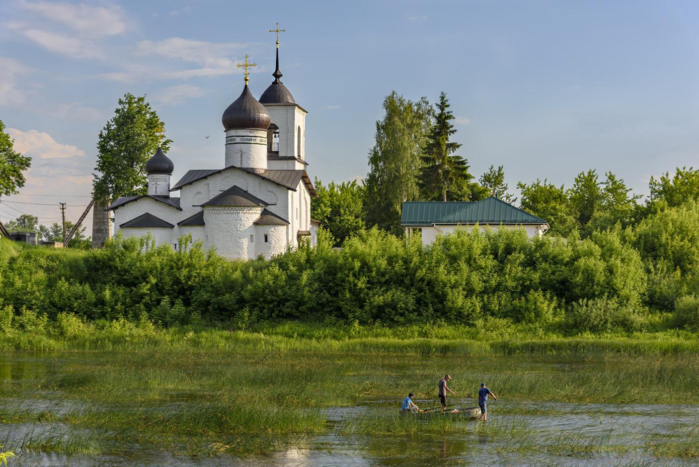 "photo ""***"" tags: landscape, travel, river, summer, путешествие, церковь"
