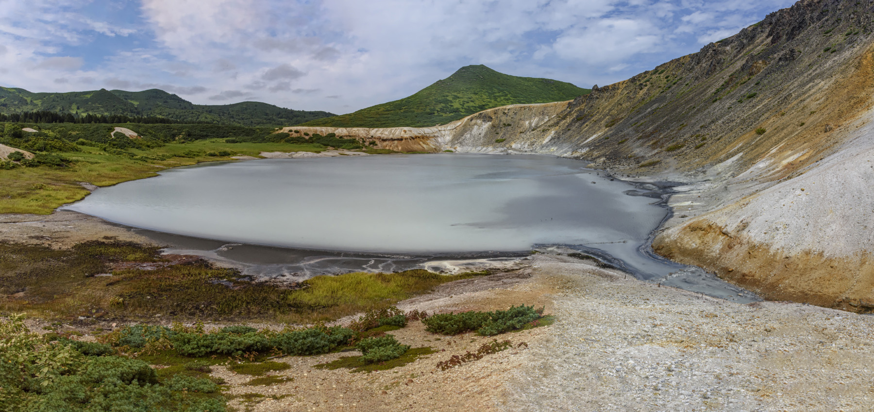 "фото ""Озеро Кипящее"" метки: пейзаж, путешествия, панорама, лето, озеро, остров, путешествие"