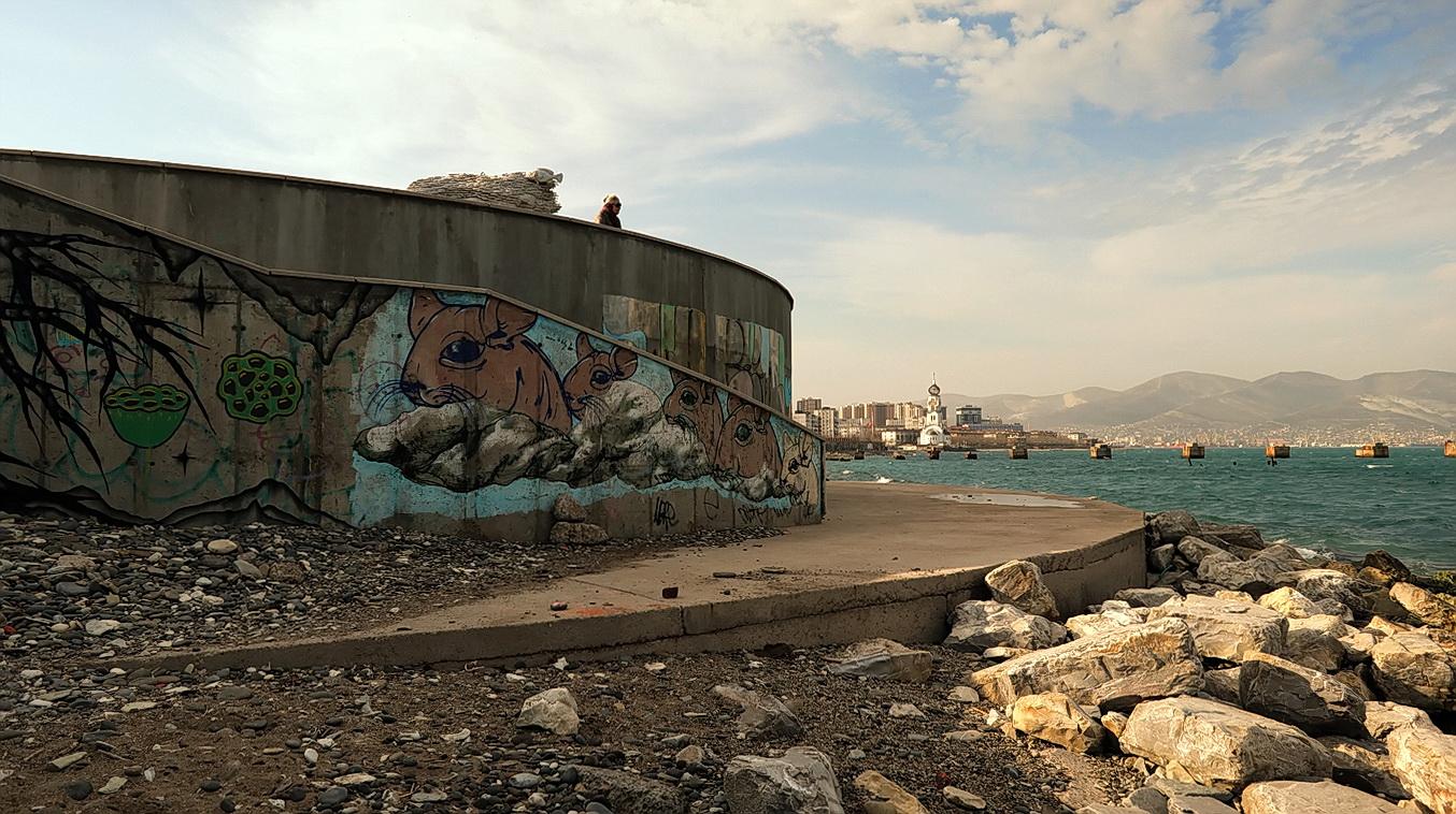 "photo ""The seaside"" tags: street,"