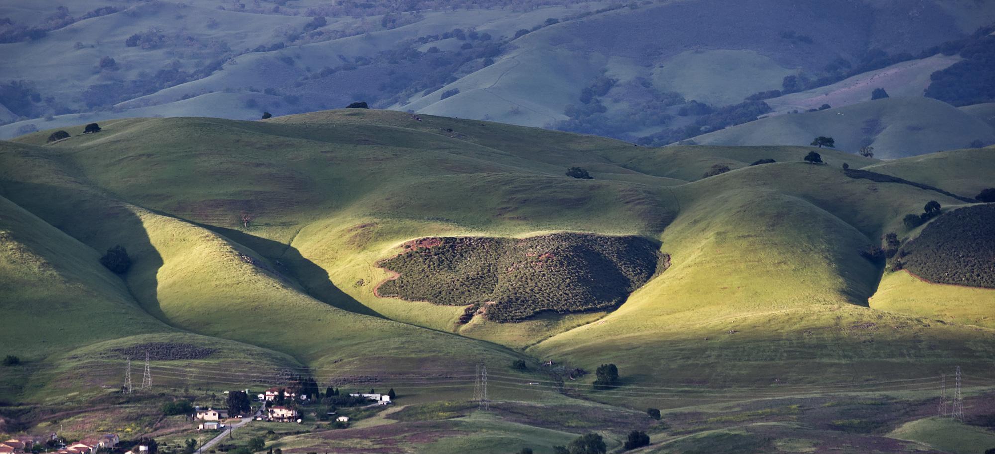 """photo """"Предгорная Усадьба"""" tags: landscape, Mt Hamilton"""