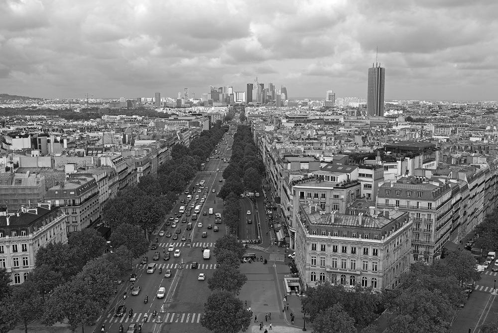 "photo ""***"" tags: city, black&white, Париж"