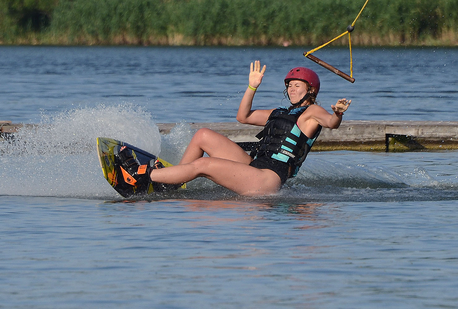 """photo """"***"""" tags: sport, river, summer, water, Белгород"""