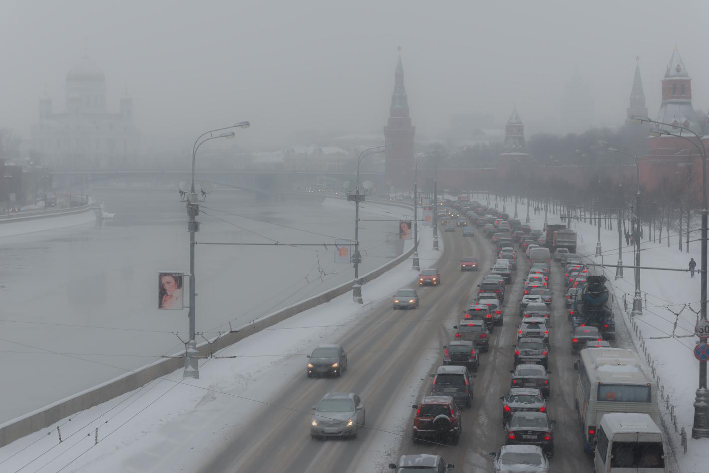 """фото """"Заснеженная Москва"""" метки: город, Москва, зима"""
