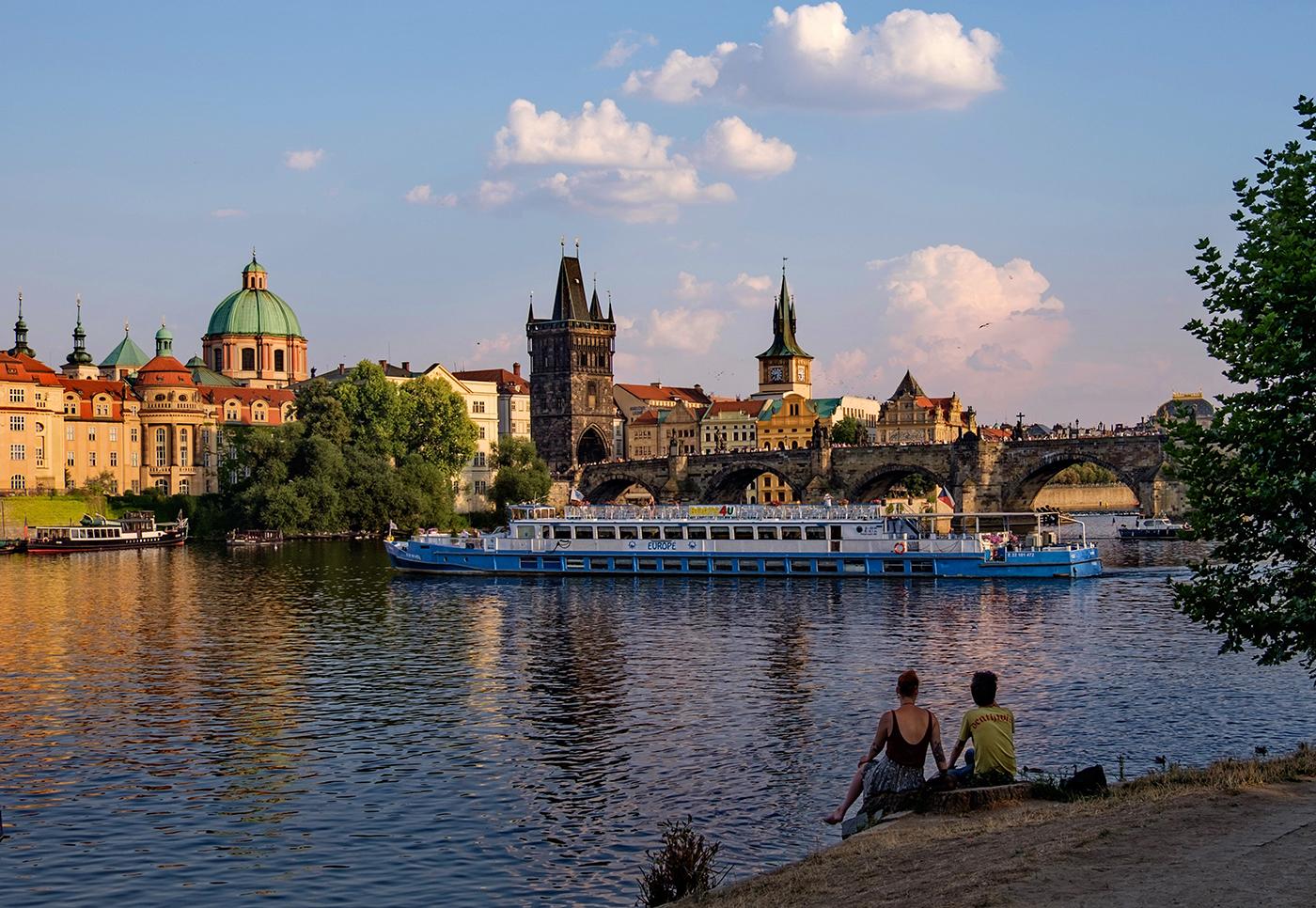 "photo ""***"" tags: , Prague, Влтава"