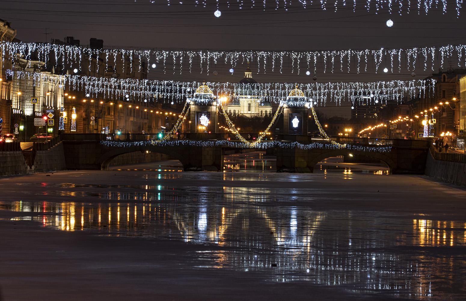 "photo ""Фонтанка. Лермонтовский мост."" tags: city,"