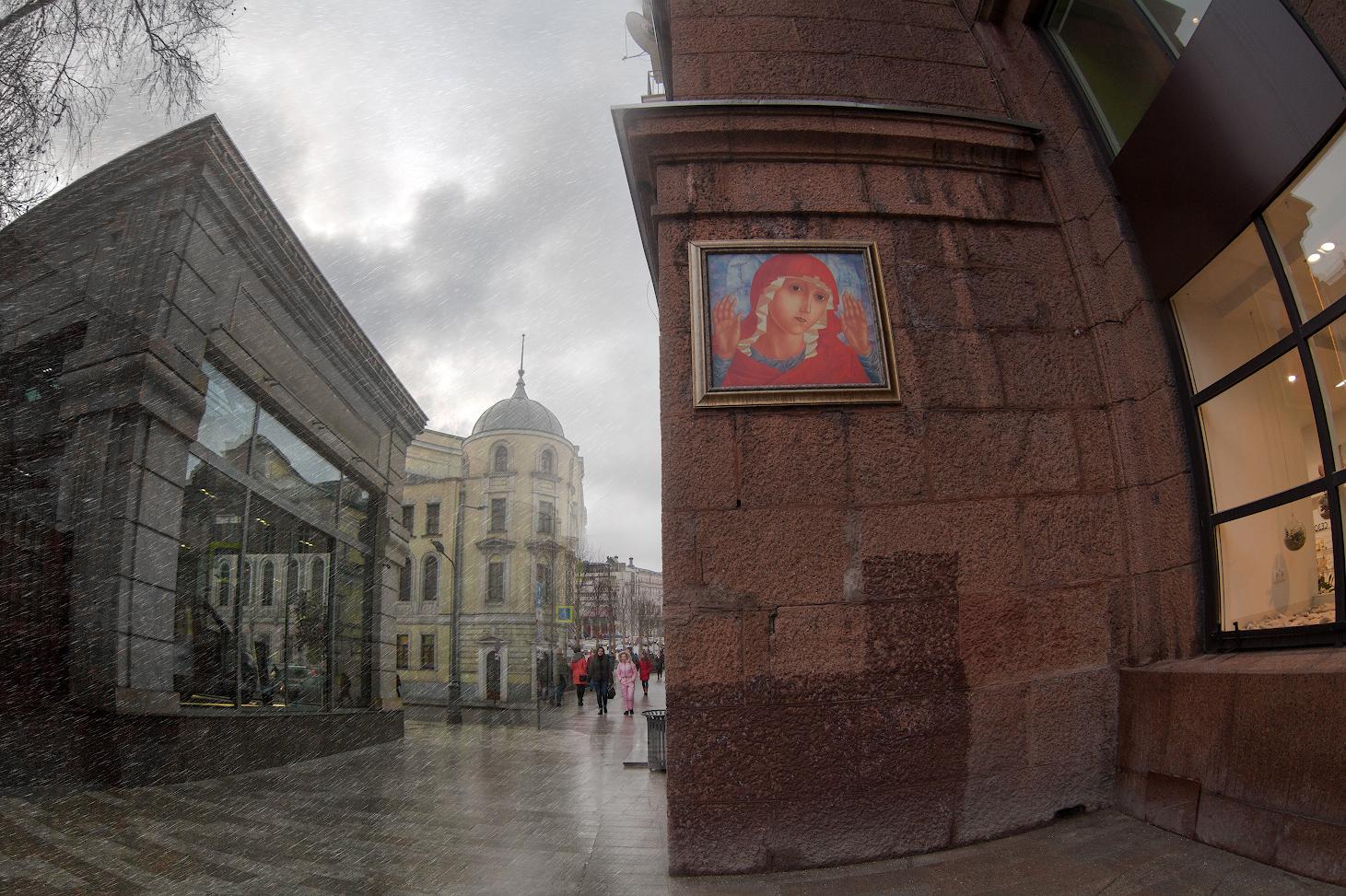 """фото """"Городская галерея..."""" метки: стрит-фото, город, фотомонтаж,"""