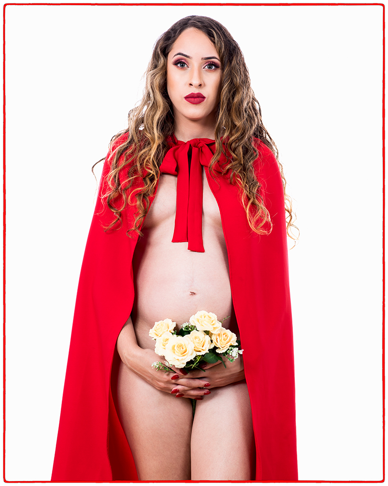 """photo """"Sweet little red riding hood"""" tags: portrait, glamour, Brazilian Girl"""