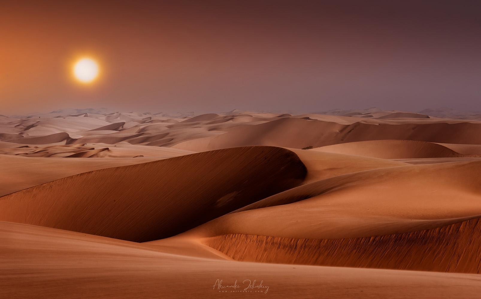 "photo ""Sun and Dunes"" tags: landscape, montage, nature,"