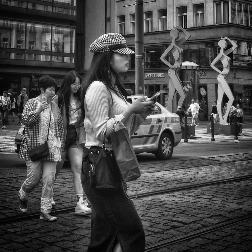 "photo ""***"" tags: street, black&white, city,"