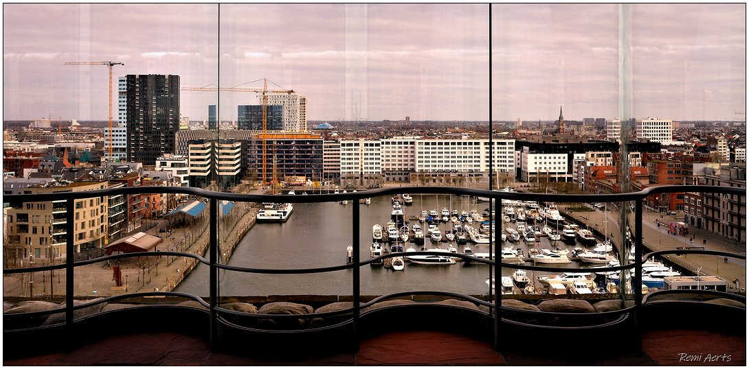 """photo """"Antwerp"""" tags: landscape, architecture, panoramic,"""