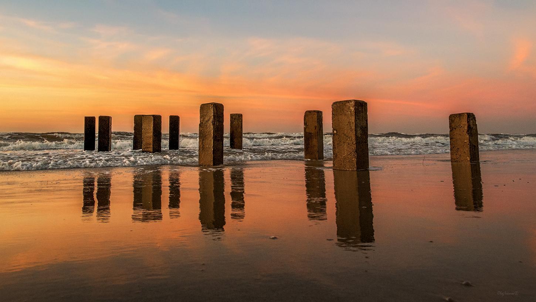 """photo """"***"""" tags: landscape, sea, sunset, Балтийск, Балтийское море, Балтика, Калининградская область"""