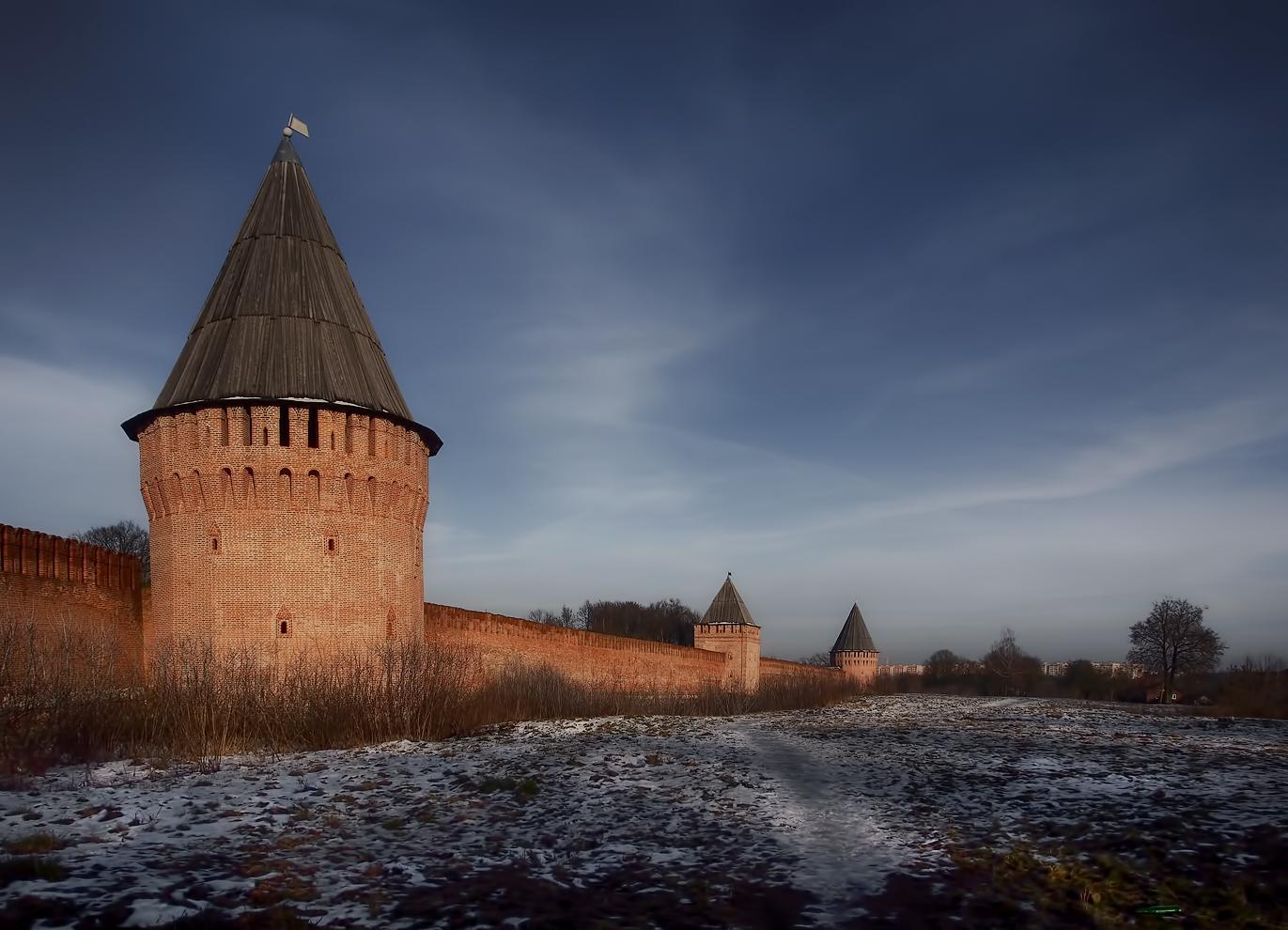 """photo """"***"""" tags: landscape, architecture, winter, Смоленск"""