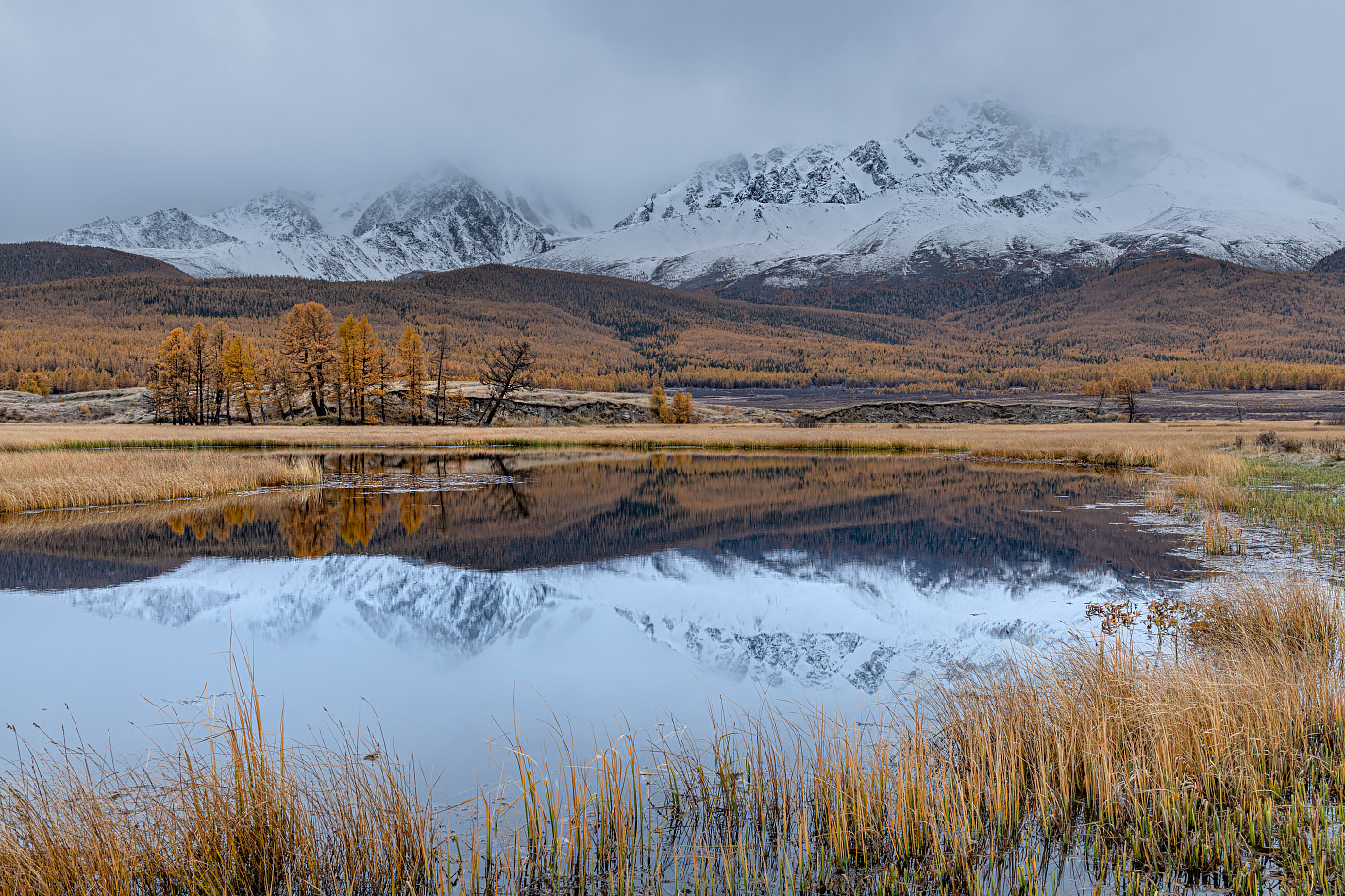 "photo ""***"" tags: landscape, travel, autumn, lake, mountains, Алтай, путешествие"