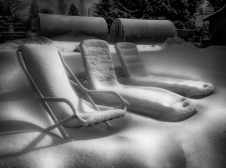 """фото """"Ожидание"""" метки: пейзаж, Ленинградская область, весна, дача, снег"""