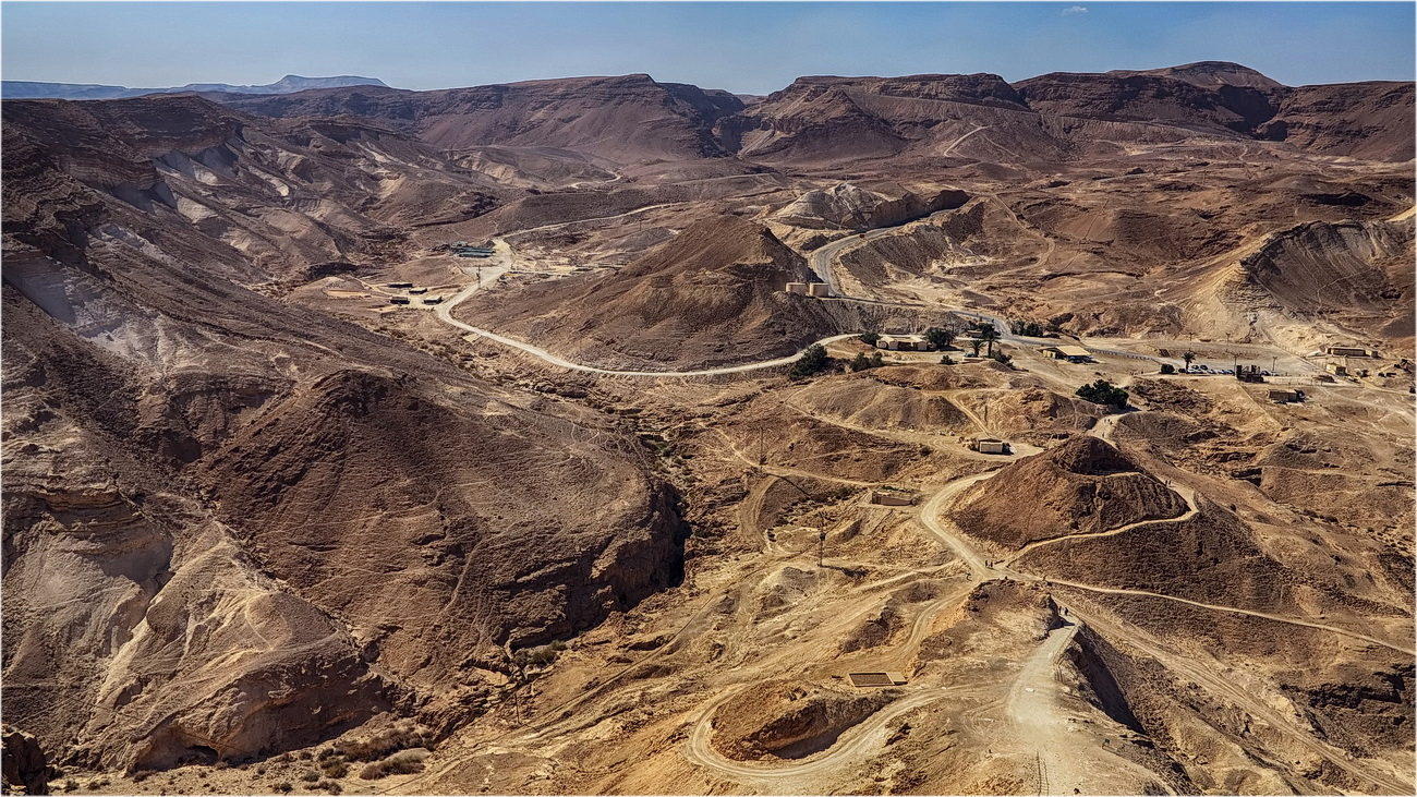 """photo """"View from Masada"""" tags: landscape,"""