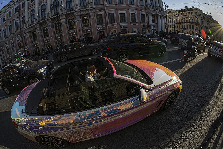 "photo ""На Невском"" tags: street,"