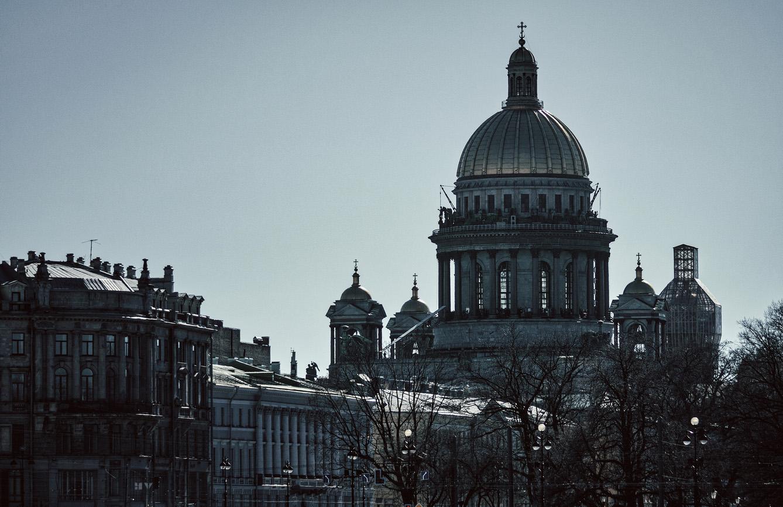 "фото ""cold city"" метки: архитектура, город, разное, Исаакий, СПб, купол, купола, питер, собор"