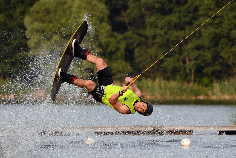 "photo ""***"" tags: sport, summer, water, водный паркур"