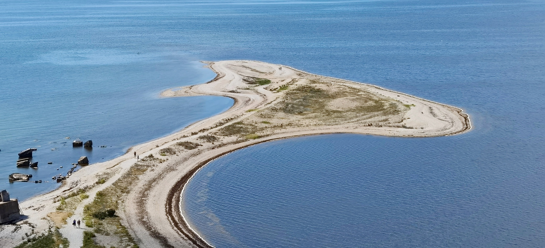 """photo """"walk to the ends of the earth. Cape Sõrve. Saaremaa island"""" tags: travel,"""